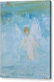 Heavenly Angel Child Acrylic Print