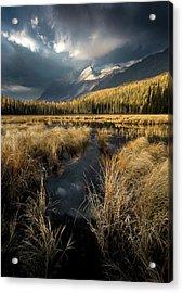 Heaven's Breath / Whitefish, Montana  Acrylic Print
