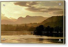 Heavens Golden Hour Acrylic Print