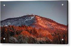 Hibriten Mountain - Lenoir, North Carolina Acrylic Print