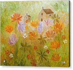 Hidden Folk Acrylic Print