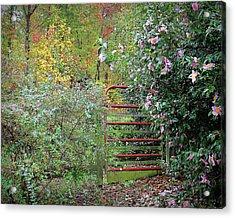 Hidden Gate Acrylic Print