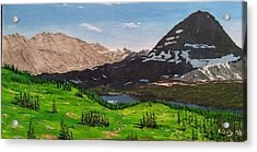 Hidden Lake Pass Acrylic Print