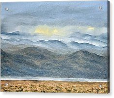 Acrylic Print featuring the painting High Desert Morning by Kevin Daly