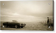 High Plains Drifter Acrylic Print