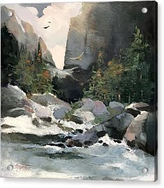 High Ridge Pass Acrylic Print