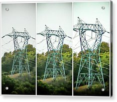 High-voltage Power Transmission Towers 1 Acrylic Print