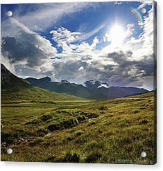 Highlands Afternoon Acrylic Print