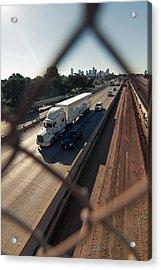 Highway Capture Acrylic Print