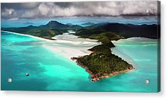 Hill Inlet Acrylic Print by Bruce Hood