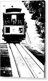 Hill Street Noir Acrylic Print