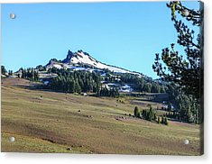 Acrylic Print featuring the photograph Hillman Peak Crater Lake National Park by Dawn Richards