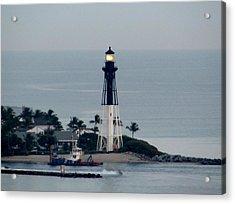 Hillsboro Lighthouse Acrylic Print