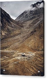 Acrylic Print featuring the photograph Himalayan Outpost by Whitney Goodey