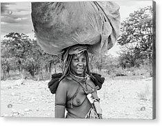 Himba Woman 2 Acrylic Print