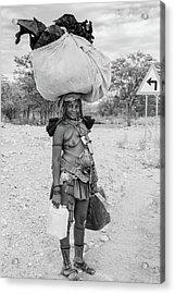 Himba Woman 3 Acrylic Print
