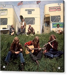 Hippies At Epsom Acrylic Print