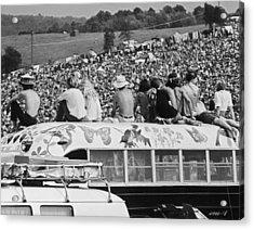 Hippy Bus Acrylic Print by Archive Photos