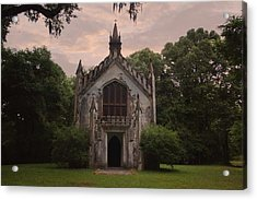 Historic Mississippi Church In The Woods Acrylic Print