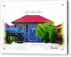 Historic Rio Grande Station Acrylic Print