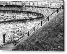 Lincoln Castle Acrylic Print