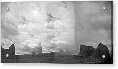 Holga Triptych 4 Acrylic Print