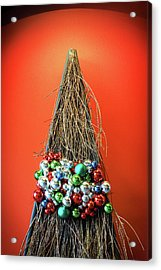Acrylic Print featuring the photograph Holiday Twig Tree by Bill Swartwout Fine Art Photography