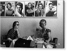 Hollywood Cafe Acrylic Print by Kurt Hutton