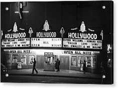 Hollywood Cinema Acrylic Print