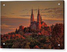 Holy Hill Sunrise Acrylic Print