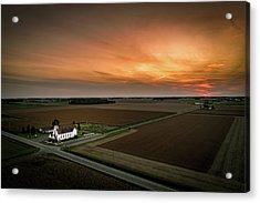 Holy Sunset Acrylic Print