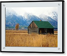 Acrylic Print featuring the photograph Home On The Range by Pete Federico