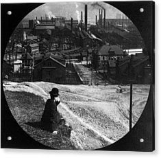 Homestead Steel Works Acrylic Print by Hulton Archive