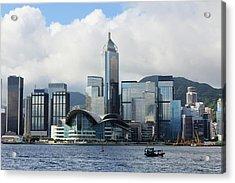 Hong Kong Convention And Exhibition Acrylic Print