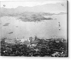 Hong Kong Acrylic Print by Hulton Archive