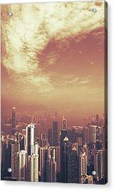 Hong Kong Portrait Acrylic Print