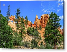 Acrylic Print featuring the photograph Hoodoo Heaven by Dawn Richards