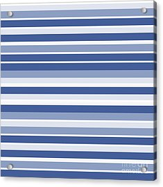 Horizontal Lines Background - Dde607 Acrylic Print
