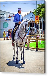 Horse Rider Acrylic Print