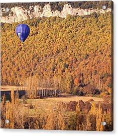 Hot Air Balloon, Beynac, France Acrylic Print