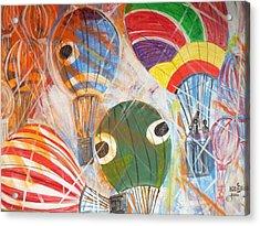 Hot Air Balloons Acrylic Print