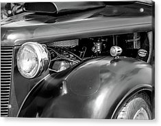 Hot Rod Engine Acrylic Print