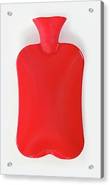 Hot Water Bottle Acrylic Print by Rolfbodmer