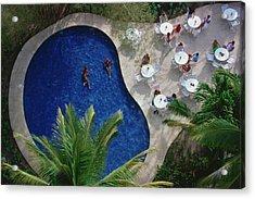 Hotel Camino Real Acrylic Print