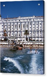 Hotel Sports Acrylic Print by Slim Aarons