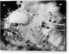 House Disintegrates Acrylic Print by Keystone
