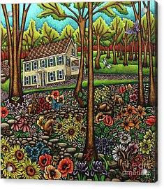 House In The Meadow  Acrylic Print