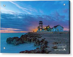Acrylic Print featuring the photograph House Of Refuge Morning by Tom Claud