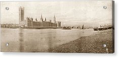 Houses Of Parliament Acrylic Print by Hulton Archive