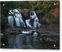 Acrylic Print featuring the photograph Houston Brook Falls by Rick Hartigan